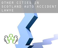 Other cities in Scotland  auto accident lawyer