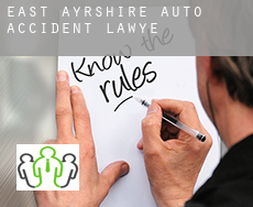 East Ayrshire  auto accident lawyer